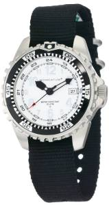 Momentum Men's 1M-DV00W8B M1 Stainless Steel Watch with Black Nylon Band