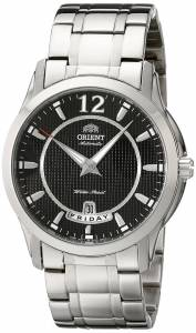 [オリエント]Orient 腕時計 21 Jewel Automatic with Full Day and Date Black Face CEV0M001B メンズ [並行輸入品]