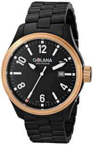 [ゴラナ スイス]Golana Swiss 腕時計 Terra Stainless Steel Fashion Watch TE120-2 メンズ [並行輸入品]