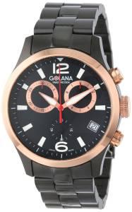 [ゴラナ スイス]Golana Swiss 腕時計 Aero Stainless Steel Chronograph Watch AE220-2 メンズ [並行輸入品]