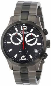 [ゴラナ スイス]Golana Swiss 腕時計 Aero Stainless Steel Chronograph Watch AE240-2 メンズ [並行輸入品]