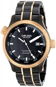 [ゴラナ スイス]Golana Swiss 腕時計 Aqua Stainless Steel Divers Watch AQ120-2 メンズ [並行輸入品]
