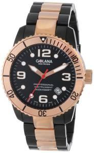 [ゴラナ スイス]Golana Swiss 腕時計 Aqua Stainless Steel Divers Watch AQ220-2 メンズ [並行輸入品]