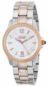 [ゴラナ スイス]Golana Swiss 腕時計 Aura Two Tone Stainless Steel Dress Watch AU150-4 レディース [並行輸入品]