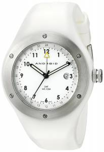 [アンドロイド]Android 腕時計 Amoeba Swiss GMT White Dial Watch AD361BW ユニセックス [並行輸入品]