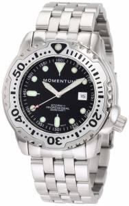 [モーメンタム]Momentum 腕時計 Storm II Black Dial Steel Bracelet Watch 1M-DV82B0 メンズ [並行輸入品]
