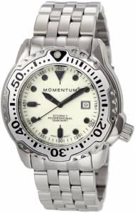 [モーメンタム]Momentum 腕時計 Storm II White Dial Steel Bracelet Watch 1M-DV82W0 メンズ [並行輸入品]