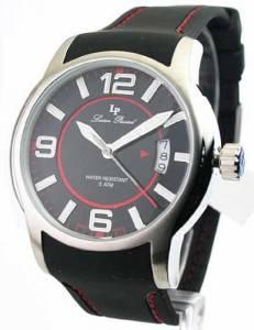 [ルシアン ピカール]Lucien Piccard 腕時計 Rubber Strap Date Watch 28163RD メンズ [並行輸入品]