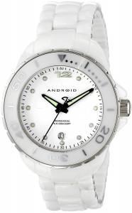 [アンドロイド]Android 腕時計 Exotic Swiss Quartz Watch with Ceramic Bracelet White AD452AW レディース [並行輸入品]