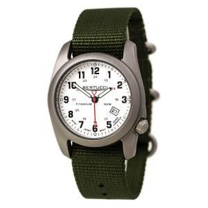 [ベルトゥッチ]bertucci 腕時計 A2T Original Olive Band White Dial Watch 12121 12121.0 メンズ [並行輸入品]