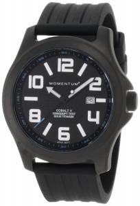 [モーメンタム]Momentum 腕時計 Cobalt V Black Ribbed Rubber Watch 1M-SP06B1B メンズ [並行輸入品]