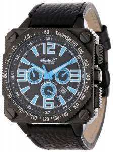 [インガソール]Ingersoll 腕時計 Bison Number 20 Black Stainless Steel Watch IN3204BKB メンズ [並行輸入品]