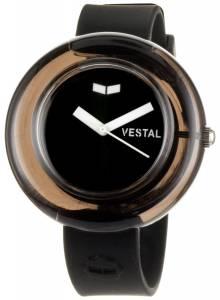 [ベスタル]Vestal 腕時計 Black and White Watch and Bangle Bracelet Set SET005 レディース [並行輸入品]