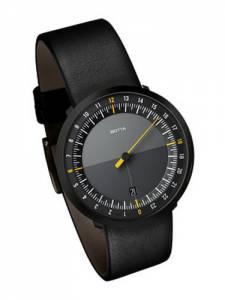 [ボッタデザイン]Botta-Design 腕時計 UNO 24 BLACK EDITION ONE HAND Watch by 229012BE メンズ [並行輸入品]