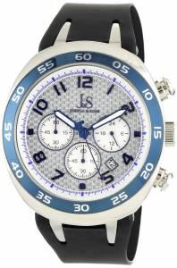 []Joshua & Sons 腕時計 Chronograph Carbon Fiber Watch JS716BU メンズ