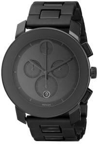 [モバード]Movado 腕時計 Bold Black Stainless Steel Bracelet Watch 3600048 メンズ [並行輸入品]