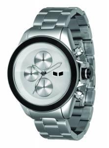 [ベスタル]Vestal 腕時計 ZR2 Minimalist Polished Silver Chronograph Watch ZR2001 ユニセックス [並行輸入品]