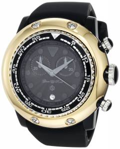 [グラムロック]Glam Rock 腕時計 Miami Beach Chronograph Black Dial Silicone Watch GR20117 レディース [並行輸入品]