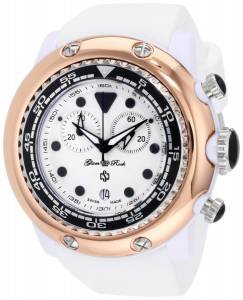 [グラムロック]Glam Rock 腕時計 Miami Beach Chronograph White Dial Silicone Watch GR20124 レディース [並行輸入品]