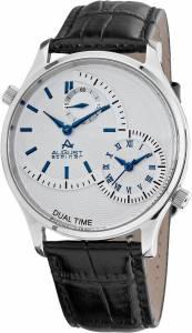 [オーガストシュタイナー]August Steiner 腕時計 Stainless Steel Dual Time Watch ASA810BU メンズ [並行輸入品]