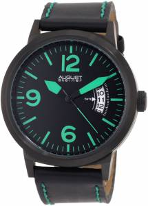 [オーガストシュタイナー]August Steiner 腕時計 Swiss Quartz Bold Military Luminescent Watch ASA812GN メンズ [並行輸入品]