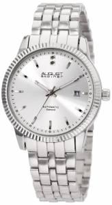 [オーガストシュタイナー]August Steiner 腕時計 Diamond Automatic Bracelet Dress Watch ASA824SS メンズ [並行輸入品]