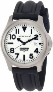 [モーメンタム]Momentum 腕時計 Atlas White Dial Black SLK Rubber Watch 1M-SP00W1 メンズ [並行輸入品]