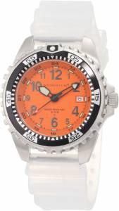 [モーメンタム]Momentum 腕時計 M1 Orange Dial Transparent Silicone Rubber Watch 1M-DV00O1T メンズ [並行輸入品]