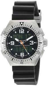 [モーメンタム]Momentum 腕時計 Format 4 Titanium Watch with Rubber Band 1M-SP24B8B メンズ [並行輸入品]