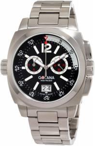 [ゴラナ スイス]Golana Swiss 腕時計 Aero Pro 400 Stainless Steel Watch AE400-2 メンズ [並行輸入品]