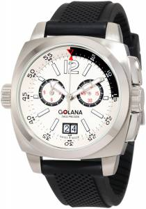 [ゴラナ スイス]Golana Swiss 腕時計 Aero Pro 400 Stainless Steel Watch AE400-3 メンズ [並行輸入品]
