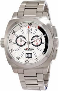 [ゴラナ スイス]Golana Swiss 腕時計 Aero Pro 400 Stainless Steel Watch AE400-4 メンズ [並行輸入品]