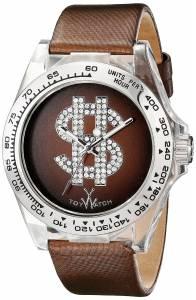 [トイウォッチ]Toy Watch 腕時計 Analog Display Quartz Brown Watch D06BR ユニセックス [並行輸入品]