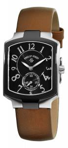 [フィリップ ステイン]Philip Stein 腕時計 Classic Bronze Silk on Leather Strap Watch 21TB-FB-IBZ レディース [並行輸入品]