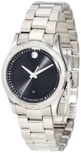 [モバード]Movado 腕時計 Sportivo Stainless Steel Diamond Bezel Museum Dial Watch 0606498 レディース [並行輸入品]