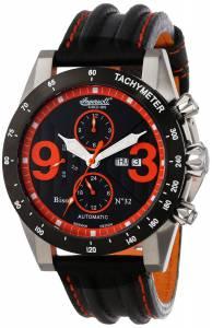 [インガソール]Ingersoll 腕時計 Automatic Bison Number 32 Black Orange Watch IN1620BKOR メンズ [並行輸入品]