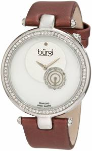 [バージ]Burgi 腕時計 Round Swiss Quartz Dazzling Diamond Watch BU42BUR レディース [並行輸入品]