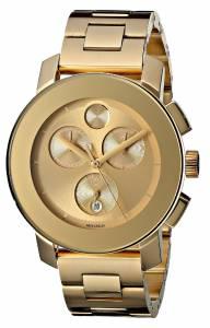 [モバード]Movado 腕時計 Bold Analog Display Swiss Quartz Gold Watch 3600076 レディース [並行輸入品]
