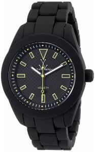 [トイウォッチ]Toy Watch 腕時計 Velvety Analog Display Swiss Quartz Black Watch TOYVV03BK ユニセックス [並行輸入品]