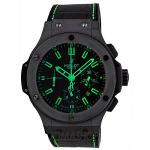 [ウブロ]Hublot 腕時計 All Black and Green Carat Watch 301.CI.1190.GR.ABG11 メンズ [並行輸入品]