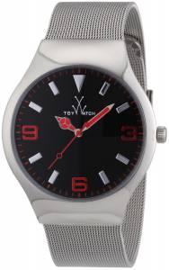 [トイウォッチ]Toy Watch 腕時計 Mesh Analog Display Swiss Quartz Silver Watch TOYMH02SL ユニセックス [並行輸入品]