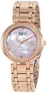 [バージ]Burgi 腕時計 Rose GoldTone Stainless Steel Watch BU55RG レディース [並行輸入品]