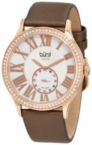 [バージ]Burgi 腕時計 Swiss Quartz Diamond Strap Watch BU56RG レディース [並行輸入品]