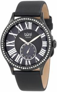 [バージ]Burgi 腕時計 Swiss Quartz Diamond Strap Watch BU56BK レディース [並行輸入品]