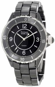 [バージ]Burgi 腕時計 Ceramic Quartz Bracelet Watch BU57BK レディース [並行輸入品]