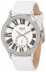 [バージ]Burgi 腕時計 Swiss Quartz Diamond Strap Watch BU56WT レディース [並行輸入品]