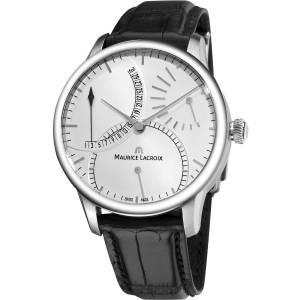 [モーリス ラクロア]Maurice Lacroix 腕時計 MasterPiece Black Leather Strap Watch MP6508-SS001130 メンズ [並行輸入品]