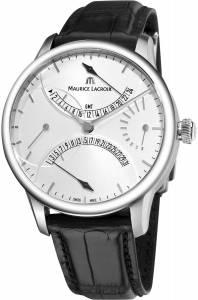 [モーリス ラクロア]Maurice Lacroix 腕時計 Masterpiece Double Retrograde Automatic MP6518-SS001-130 [並行輸入品]