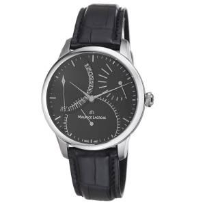 [モーリス ラクロア]Maurice Lacroix 腕時計 Master Piece Black Date Dial Strap Watch MP6508-SS001330 メンズ [並行輸入品]