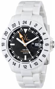 [トイウォッチ]Toy Watch 腕時計 Jet Lag Analog Display Swiss Quartz White Watch TOYJET04IC ユニセックス [並行輸入品]